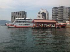 To Miyajima Ferry  #Japan #Hiroshima #Ferry