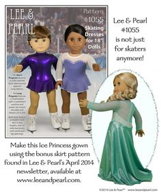 In honor of all the wonderful skaters who inspire us every four years (and every year in between) Lee & Pearl™ are thrilled to present the perfect