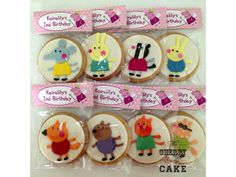 Malaysia Party Planner Dessert Table Cake Designer: Peppa Pig Party