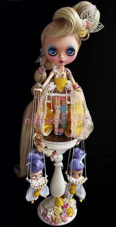 Maria Netta! Poor little Petites! Amazing works of nanuka