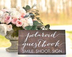 Polaroid Guest Book Sign Polaroid Wedding Guest Book Wedding