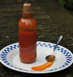Homemade Scotch Bonnet Sauce (leave out the sugar, or use a bit of fruit juice or a date, for Whole30)
