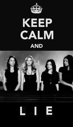 Find images and videos about text, pretty little liars and pll on We Heart It - the app to get lost in what you love. Best Tv Shows, Best Shows Ever, Favorite Tv Shows, My Favorite Things, Pretty Little Liars, Keep Calm Quotes, Abc Family, Favim, I'm Still Here