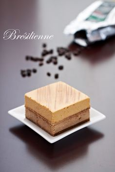 Brésilienne (Coffee and Caramel Mousse)