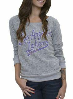 NBA Los Angeles Lakers Vintage Marled Fleece w Applique - Women s  Collections - NBA - 0e19ef2f4