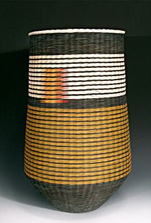 Kari Lonning | woven basket - like the assymetrical detail