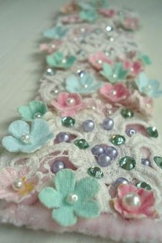 Flowers and beads