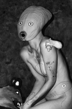 Two of our most favorite contemporary photographers, Roger Ballen and Asger…