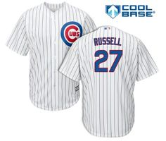 Addison Russell Chicago Cubs Youth Cool Base Stitched Jersey