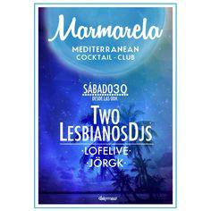 Nuestra sesión de noche del sábado corre a cargo de dos LESBIANOS muy especiales, junto a Lofelive y Jörgk✨ #Summer #Marmarela #Alicante #Alc