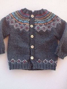 tutorial puntomoderno.com, en video e instrucciones, Chaqueta de bebé nórdica, español - ENGLISH PATTERN , #fairisle