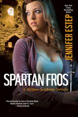 Spartan Frost by Jennifer Estep -Professor Metis and Nickamedes say that I'm fine, that Loki and the Reapers don't have a hold on me anymore, but I can't risk it. I can't risk hurting Gwen again. So I'm leaving Mythos and going somewhere far, far away. (click image for full review)