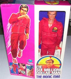 KENNER: 1975 The Six Million Dollar Man Bionic Action Figure #Vintage #Toys