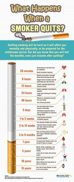 8 Hours After Quitting Smoking What Happens To Your Body