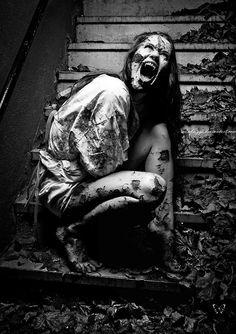 Vampire's Final Death III by Sam Briggs. ☚  Creepy | Art | Photography | Weird | Bizarre | Strange | Evil | Dark Art | Death | Crime | Blood | Inhumane