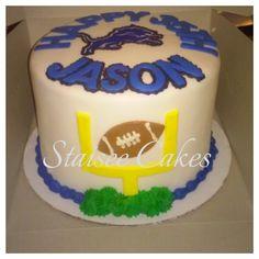 Detroit Lions Cake