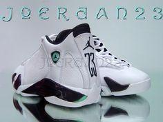 'Oxidized Green' Air Jordan XIV Sample