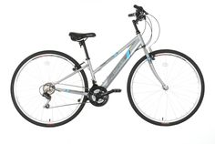 The Apollo Excelle Womens Hybrid Bike is great whether enjoying weekend trails or commuting.