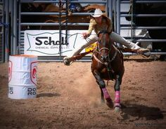 The Barrel Racer - Monte Vista, Colorado Rodeo ©Nina Anthony 2013 #rodeo #horses #sports #photography