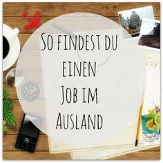 Wie finde ich einen Job im Ausland - Traumjob im Ausland #Auslandspraktikum #Auslandsjob #GapYear #CV #BewerbungEnglisch