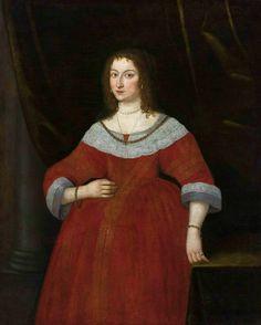 Portrait of Mrs. Wodzińska by Anonymous, ca. 1650 (PD-art/old), Muzeum Narodowe w Warszawie (MNW)