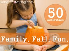 This is *the* bucket list of fun activities for the kids to do this fall.