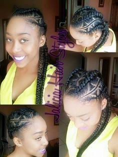 Cool Cornrows Mohawks And Cornrow On Pinterest Hairstyle Inspiration Daily Dogsangcom