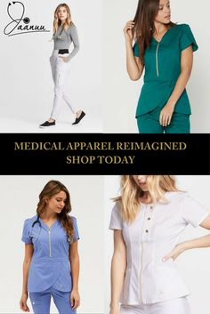 Finally a uniform that makes you feel like the individual that you are. Embrace the comfort of TENCEL-based antimicrobial finished scrubs combined with the style of the runway. Save on your first order with at checkout Lab Coats For Men, Runway Fashion, Fashion Outfits, High Fashion, Medical Uniforms, Womens Scrubs, Dental Assistant, Professional Look, Work Attire