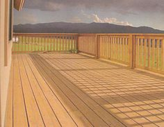 Red Cedar Deck and Railing