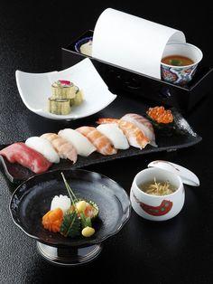 Japanese sushi dish 寿司懐石