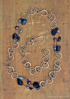 Midnight Blue Ribbons set by Cindy Wimmer