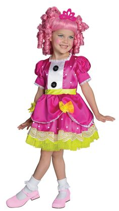 Lalaloopsy Deluxe Jewel Sparkles Toddler / Child Costume from BuyCostumes.com