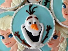 Olaf Cookie