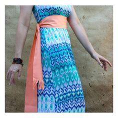 Woven Sash - Bohemian Clothing Women - Fabric Belt - Boho Chic Fashion…