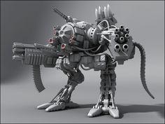 Big guns! #3d #3dmodelling #zbrush https://www.facebook.com/3dmodelingExtremist