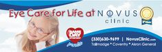 Eye Care for all Ages Affordable Glasses, Care For All, Life Care, Appointments, Clinic, Eyes, Day, Fitness, Excercise