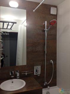 Major renovation, ремонт квартиры, отделка санузла, плитка под металл в ванной комнате, столешница под раковину, оригинальная сантехника / Идеи для ремонта