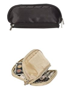 Cosmetics Travel Overnight Toiletry Organizer Bag-gold by travelwell. $10.99