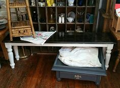 Rustic farmhouse style Entryway Bench Shabby Chic Heavily Distressed dover white ebony stain white. My aunt and I love to upcycle, repurpose, and give pieces new life to make each one 100% unique! We leave the character in our pieces...We hope you enjoy our special touch for your own home and for gifts for your loved ones! WHAGN ORIGINAL. Just finished and AVAILABLE! This went from a very basic pine bench...to this awesome rustic, shabby chic farmhouse bench. We sanded, stained, beat up…
