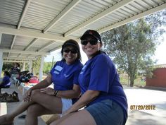 Summer Camp Graduation 2012 - Volunteers Pat Pacheco and Lettie. #nonprofit #charity #corazon
