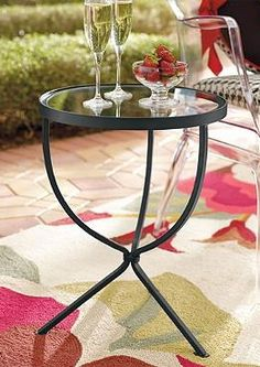 Classic and simple, the Layla Side Table is the perfect table to set your drink on that won't take over your space.