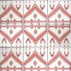 DEKORATIVE KeramikFliesen Akzent Mosaik Hand von tunisiandecor, $27.00