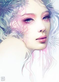 Anna Dittmann is an illustrator who grew up in San Francisco and moved to Georgia to study at the Savannah College of Art and Design who is obessed with drawing fanciful portraits. Digital Portrait, Portrait Art, Digital Art, Portraits Pastel, Illustrator, Portrait Illustration, Art Illustrations, Art Design, Beautiful Artwork