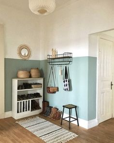 color in the hallway - Paint halfway up the hallway? -New color in the hallway - Paint halfway up the hallway? Home Accents, Room, Interior, Hallway Paint, Home Decor, House Interior, Home Deco, Interior Design, Furnishings