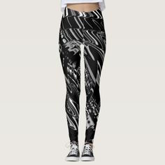 SILVER SURFER LEGGINGS - fun gifts funny diy customize personal