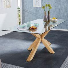 Table Saskia (100x200, huilée clair naturel) - Salle à manger & Cuisine - Par pièces - JYSK