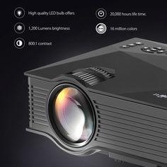 BlitzWolf® BW-MP1 Mini Portable WIFI Wireless Video Led Projector Support 1080P Home Theater Cinema Sale - Banggood.com
