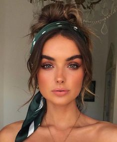 Beauty Makeup, Hair Beauty, Boho Makeup, Hair And Makeup, Beauty Style, Makeup Inspo, Makeup Goals, Boho Wedding Makeup, Beauty Skin