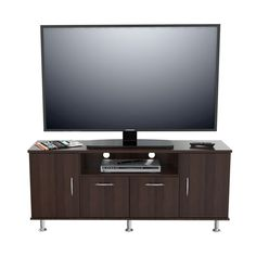 Inval Elegant 60-inch Espress-wenge Flat Panel TV Stand - Overstock™ Shopping - Great Deals on Inval America LLC Entertainment Centers