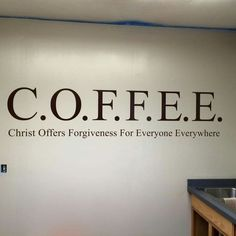 Love coffee and Jesus!